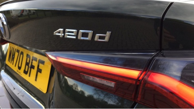 2020 BMW 420d M Sport Coupe (Green) - Image: 21