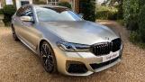 2021 BMW M550i V8 Steptronic xDrive 4-door  - Image: 1