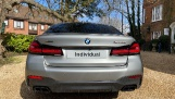 2021 BMW M550i V8 Steptronic xDrive 4-door  - Image: 3