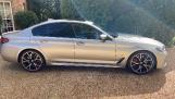 2021 BMW M550i V8 Steptronic xDrive 4-door  - Image: 4