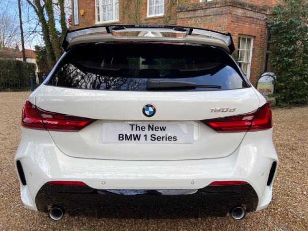 2020 BMW 120d M Sport Auto 5-door (White) - Image: 6