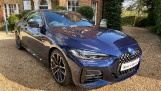 2020 BMW 420d MHT M Sport Pro Edition Auto 2-door (Blue) - Image: 1
