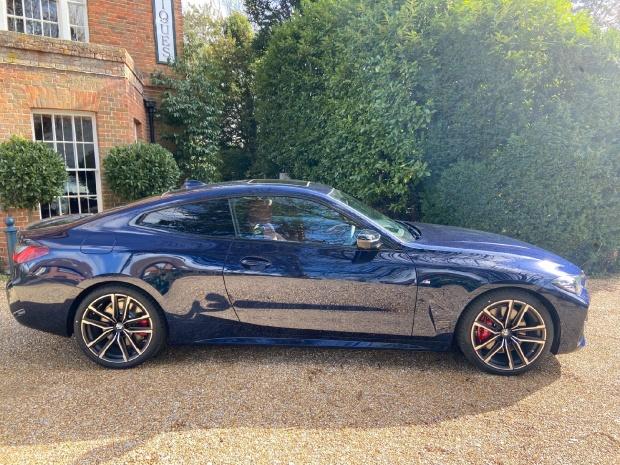 2020 BMW 420d MHT M Sport Pro Edition Auto 2-door (Blue) - Image: 4