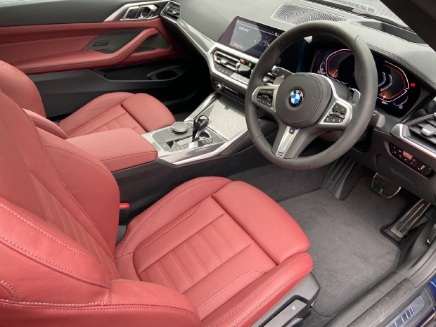 2020 BMW 420d MHT M Sport Pro Edition Auto 2-door (Blue) - Image: 5