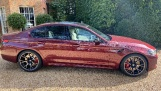 2021 BMW 4.4i V8 Competition Steptronic xDrive 4-door (Red) - Image: 3