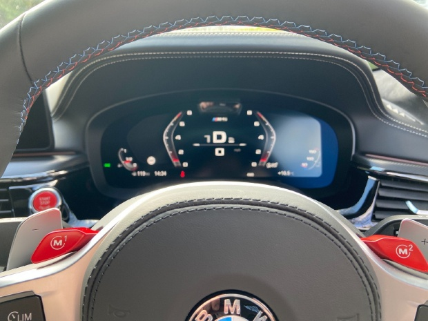 2021 BMW 4.4i V8 Competition Steptronic xDrive 4-door (Red) - Image: 8