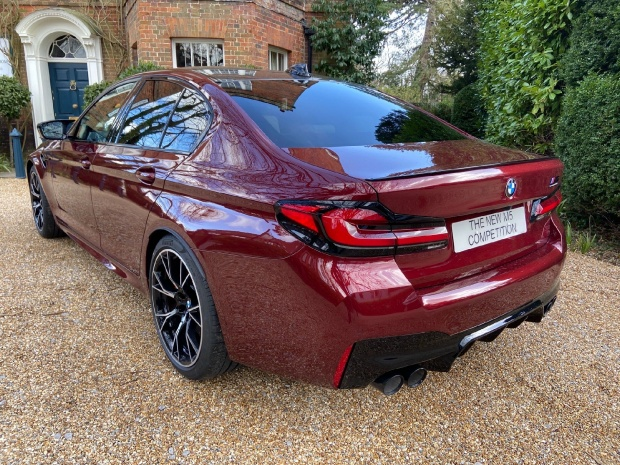 2021 BMW 4.4i V8 Competition Steptronic xDrive 4-door (Red) - Image: 10