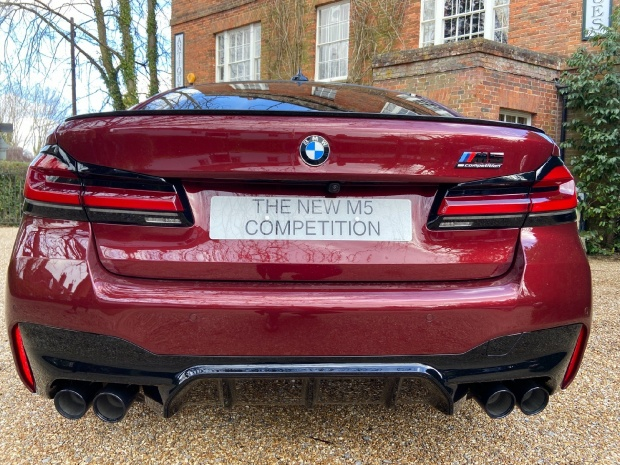 2021 BMW 4.4i V8 Competition Steptronic xDrive 4-door (Red) - Image: 11