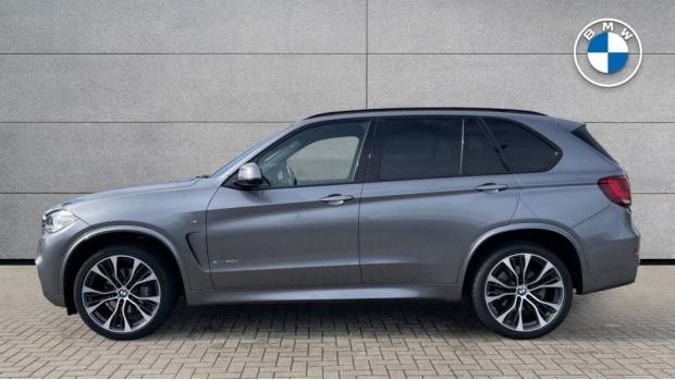 2018 BMW XDrive40d M Sport (Grey) - Image: 3