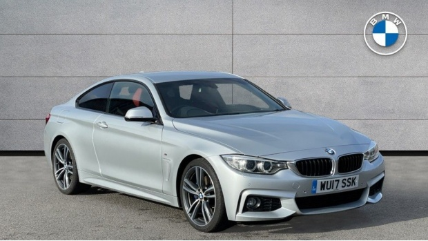2017 BMW 420d M Sport Coupe (Silver) - Image: 1