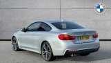 2017 BMW 420d M Sport Coupe (Silver) - Image: 2