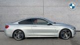 2017 BMW 420d M Sport Coupe (Silver) - Image: 3