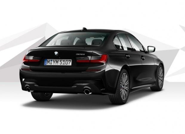 2021 BMW 320d MHT M Sport Auto 4-door (Black) - Image: 3