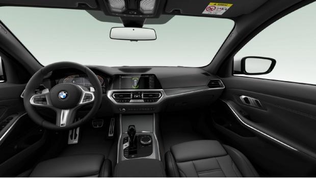 2021 BMW 320d MHT M Sport Auto 4-door (Black) - Image: 4