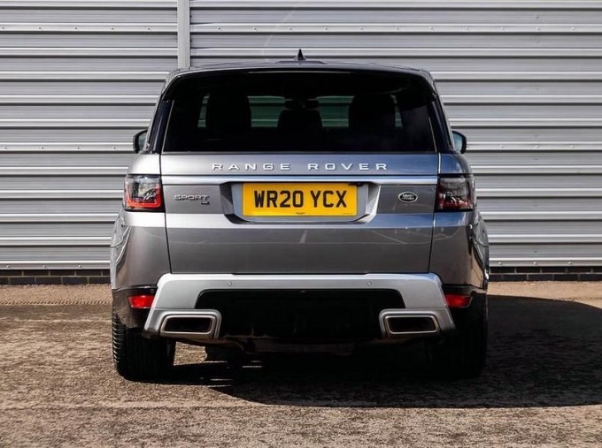 2020 Land Rover 3.0 SDV6 (306hp) HSE (Grey) - Image: 6