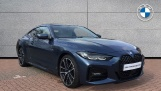 2020 BMW 420i M Sport Coupe (Blue) - Image: 1