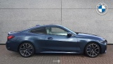 2020 BMW 420i M Sport Coupe (Blue) - Image: 3