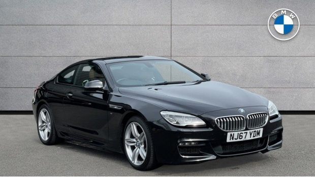 2017 BMW 650i M Sport Coupe (Black) - Image: 1