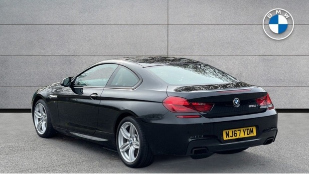 2017 BMW 650i M Sport Coupe (Black) - Image: 2