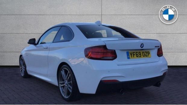 2019 BMW M240i Coupe (White) - Image: 2