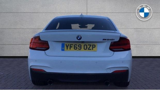 2019 BMW M240i Coupe (White) - Image: 15