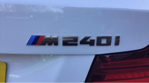 2019 BMW M240i Coupe (White) - Image: 34