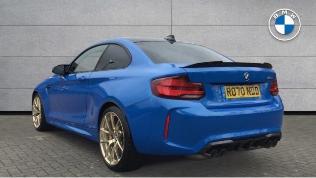2020 BMW CS Coupe (Blue) - Image: 2