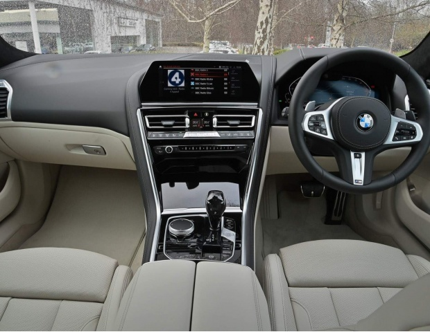 2021 BMW 840i M Sport Gran Coupe Steptronic 4-door (Grey) - Image: 20