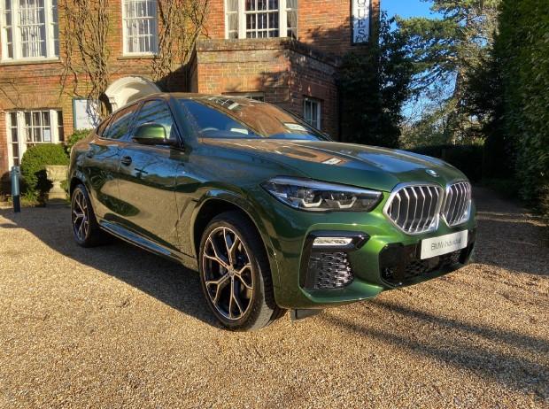 Reserve your 2021 BMW X6 40i MHT M Sport Auto xDrive 5-door