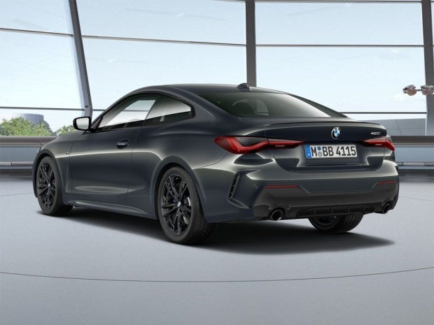 2021 BMW 430i M Sport Pro Edition Auto 2-door (Grey) - Image: 3
