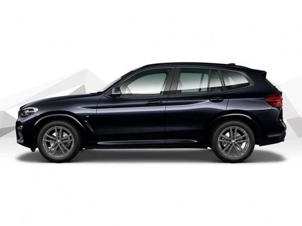 2021 BMW 20d MHT M Sport Auto xDrive 5-door (Black) - Image: 2