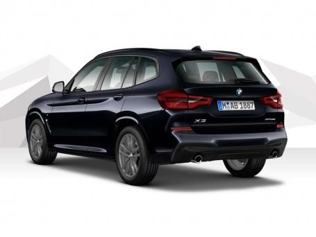 2021 BMW 20d MHT M Sport Auto xDrive 5-door (Black) - Image: 3