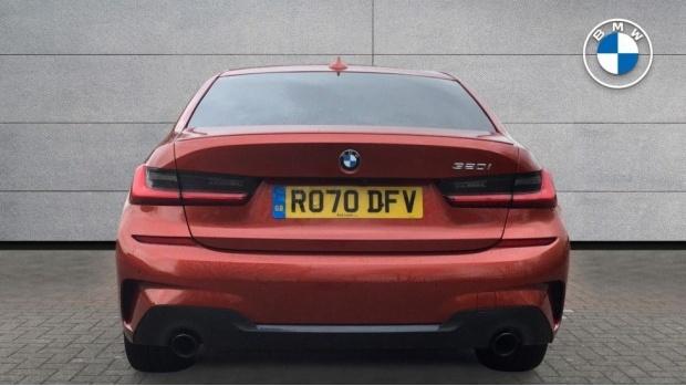 2020 BMW 320i M Sport Saloon (Orange) - Image: 15