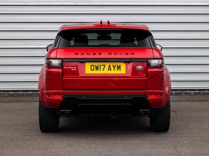 2017 Land Rover TD4 HSE Dynamic Lux Auto 4WD 5-door (Red) - Image: 6