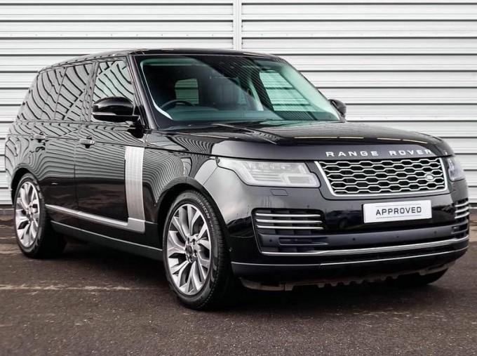 2019 Land Rover SD V6 Autobiography Auto 4WD 5-door (Black) - Image: 1