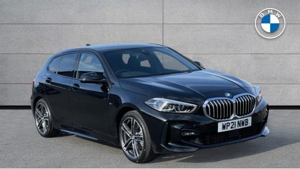 2021 BMW 118d M Sport (Black) - Image: 1