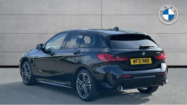 2021 BMW 118d M Sport (Black) - Image: 2