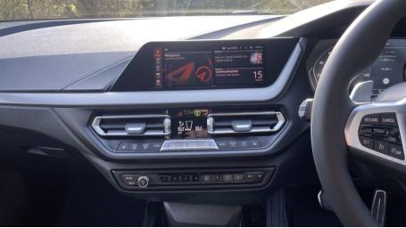 2021 BMW 118d M Sport (Black) - Image: 8