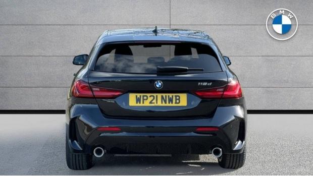 2021 BMW 118d M Sport (Black) - Image: 15