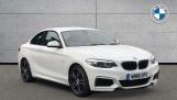 2018 BMW 218i M Sport Coupe (White) - Image: 1