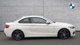 2018 BMW 218i M Sport Coupe (White) - Image: 3