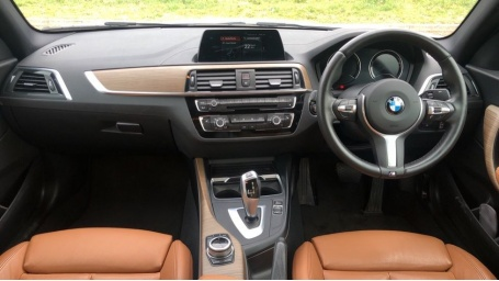 2018 BMW 218i M Sport Coupe (White) - Image: 4