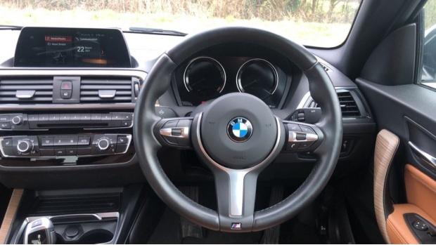 2018 BMW 218i M Sport Coupe (White) - Image: 5
