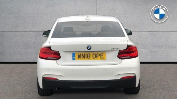 2018 BMW 218i M Sport Coupe (White) - Image: 15