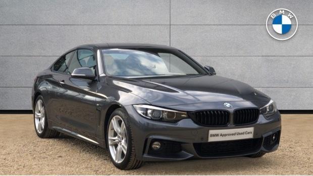 2017 BMW 420d M Sport Coupe (Grey) - Image: 1