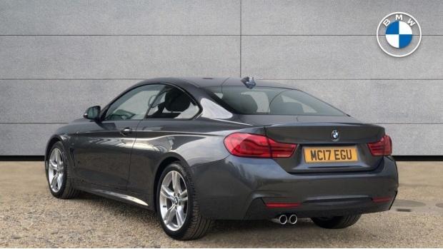 2017 BMW 420d M Sport Coupe (Grey) - Image: 2