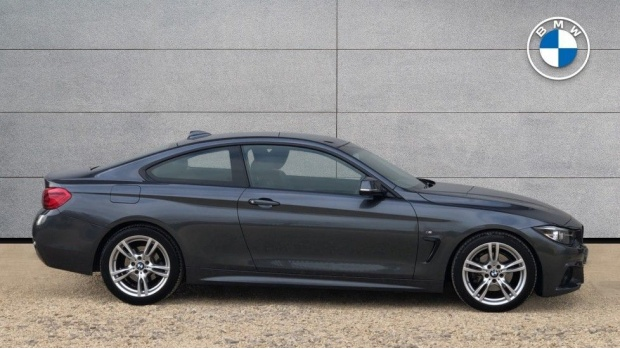 2017 BMW 420d M Sport Coupe (Grey) - Image: 3