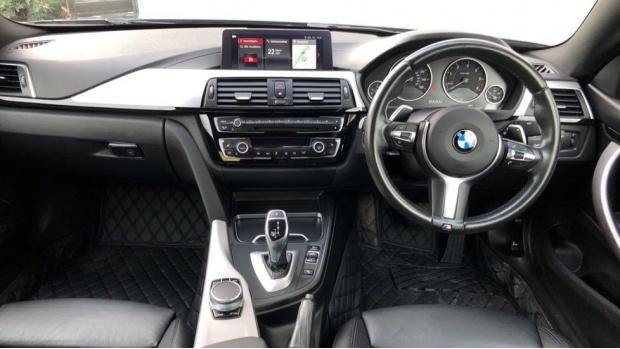 2017 BMW 420d M Sport Coupe (Grey) - Image: 4