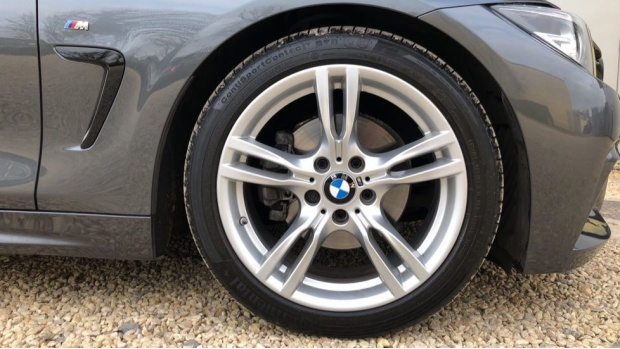 2017 BMW 420d M Sport Coupe (Grey) - Image: 14