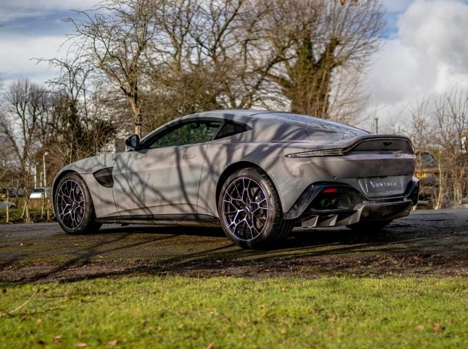 2021 Aston Martin V8 2-door (Grey) - Image: 3